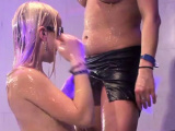 Women are moist with lusty needs during club partying