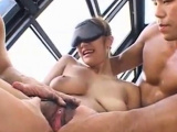 j-busty milf only pussy play