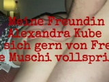 German Berlin Amateur Stranger Threesome Creampie