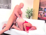 Hard dick makes a MILF moan