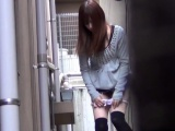 Asian teen sluts urinate