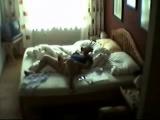 Hidden cam in bed room of my mum caught her masturbating