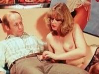 Sexy redhead fucks boyfriend on the sofa part4