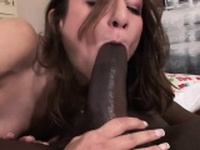 Hot Amber fucks for an anal creampie