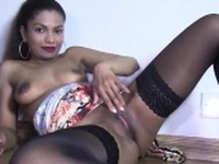 Flirty czech nympho gapes her tight cunt to the extreme98toH