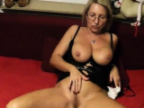Sexy German Milf Fucks her Young Toy Boy