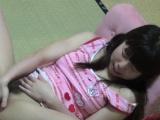 Japanese teenager rubs
