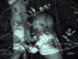 Hidden camera outdoor blowjob