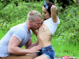 Charming russian gal Licie C gets cunny banged