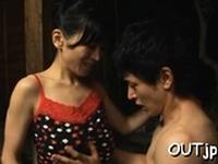 Luscious oriental beauty gets to big orgasm
