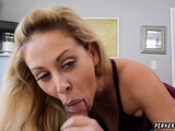 partners daughter has sex with mom hd Cherie Deville in