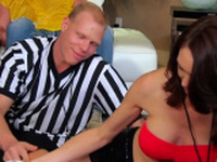 Chubby swinger wife receives a lot of stimulation
