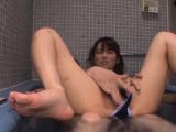 Lustful darling Asuka Hoshino banged by fellow