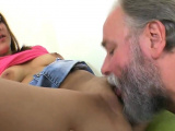 Ideal college girl was seduced and drilled by older i52Oxl