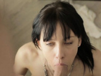 Charming young brunette cutie Carol Miller adores fucking
