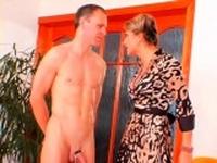 Hardcore femdom fetish with playgirl whipping slave hard