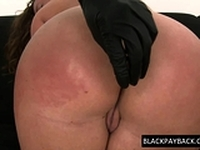 Ass fingered racist pounded by BBC