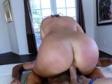 Big butt redhead riding