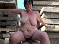 BBW grandma still enjoys grandpas tiny dick