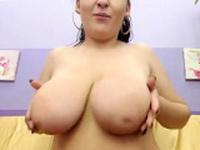 Veronica busty MILF masturbate