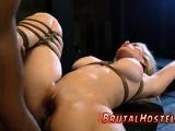 Rough anal gang bang dp xxx Big-breasted platinum-blonde