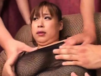 Bondage sloppy weenie sucking