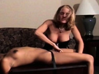 Young wench loves thraldom sex