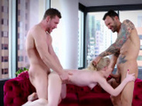 Emma Starletto In Valentines Day Double Dick Down