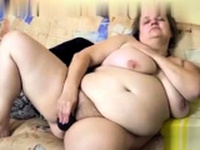 Hairy BBW Home Alone Fucking Herself Masturbation biz