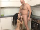 Magical russian darling Martina B fulfills fucking dream