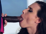 Monstrous bbc drives in taut pussy of a white playgirl
