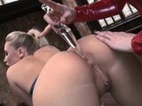 Karlie and Karina enjoy anal toying