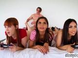 Teen stranger creampie Gamer Girls