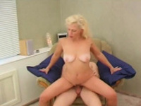 Sexy Russian Milf Seduces Young Guy Home Voyeur
