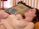 Amy Ledenez gets pussy pounded after a massage