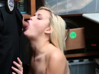 Chubby cop gangbang and blonde big tits double anal