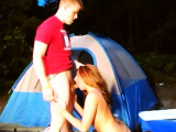 Amber likes camping and getting fucked hard