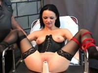 Voracious maid gets moist