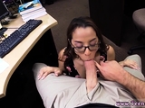 Reality College Student Banged in my pawn shop!