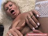 Hardcore granny Ann in POV