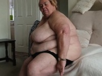 Very big old grandma