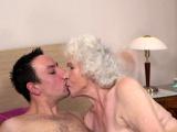 Ugly granny banged
