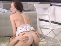 Astonishing russian Polina D gets her hole banged