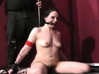 Dirty girlfriend is fucked from behind with a dildo