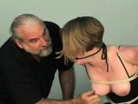 Sweet hotty enjoys intimate moments of servitude