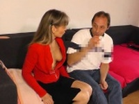 German mature hardcore fuck and cumshot
