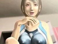 Big meloned animated slut