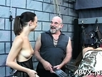 Large boobs playgirl hard fucked in slavery xxx scenes