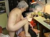 OmaPasS Amateur Grandma Hairy Pussy Masturbation