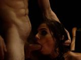 Rough strap on orgy xxx Two youthful sluts, Sydney Cole